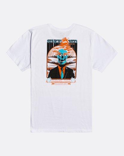 1 Blow Skull - Camiseta para Hombre Blanco U1SS83BIF0 Billabong