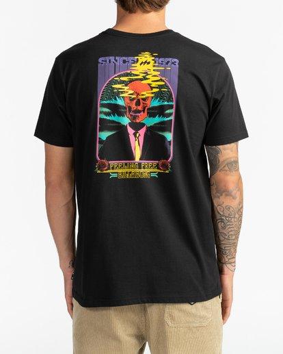 5 Blow Skull - T-shirt pour Homme Noir U1SS83BIF0 Billabong