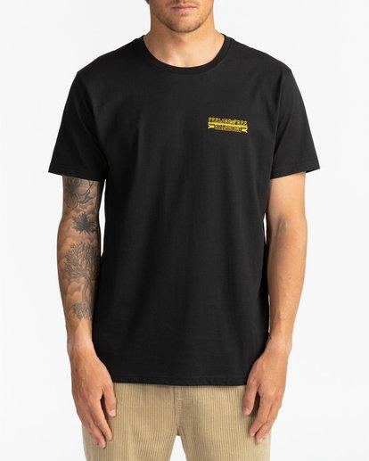 2 Blow Skull - T-shirt pour Homme Noir U1SS83BIF0 Billabong