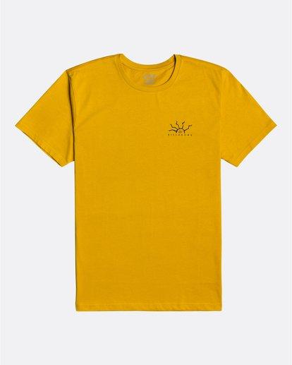 3 Peligrosa - Maglietta da Uomo Yellow U1SS84BIF0 Billabong