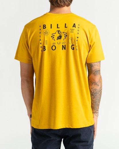 1 Peligrosa - Maglietta da Uomo Yellow U1SS84BIF0 Billabong