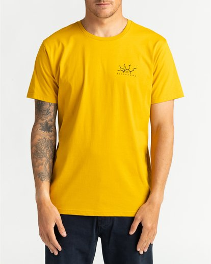 0 Peligrosa - Maglietta da Uomo Yellow U1SS84BIF0 Billabong