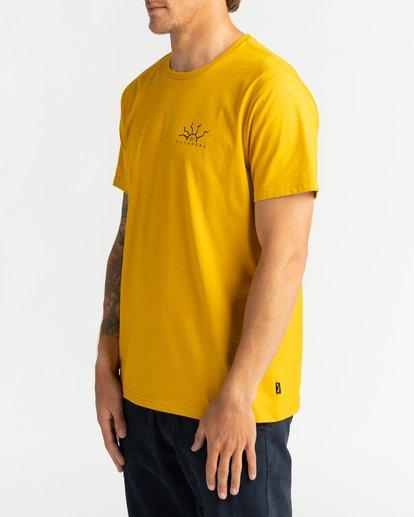2 Peligrosa - Maglietta da Uomo Yellow U1SS84BIF0 Billabong