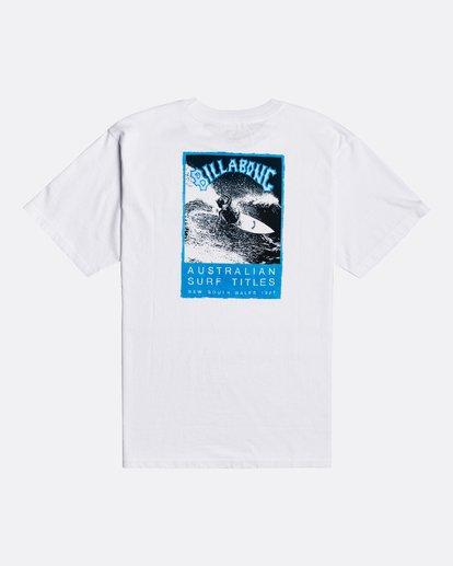 1 Past Love - Camiseta para Hombre Blanco U1SS85BIF0 Billabong