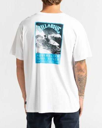 5 Past Love - Camiseta para Hombre Blanco U1SS85BIF0 Billabong