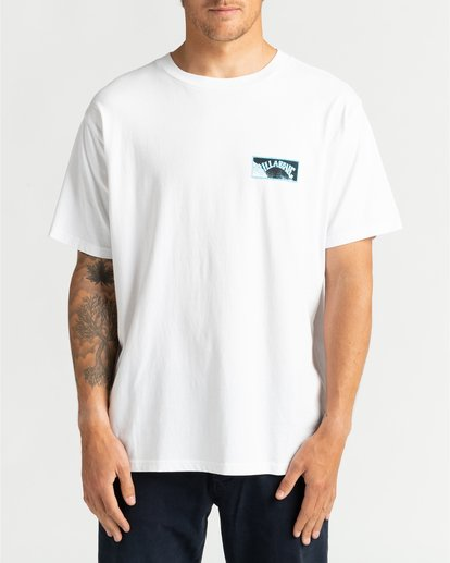 2 Past Love - Camiseta para Hombre Blanco U1SS85BIF0 Billabong