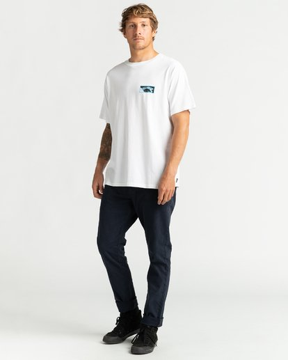 4 Past Love - Camiseta para Hombre Blanco U1SS85BIF0 Billabong