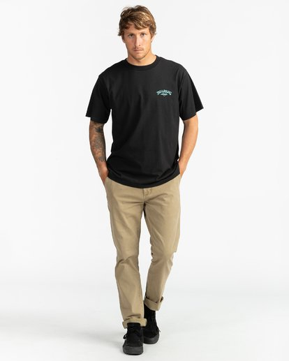 4 Past Love - Camiseta para Hombre Negro U1SS85BIF0 Billabong