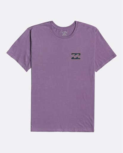 3 Crayon Wave - T-Shirt for Men Purple U1SS86BIF0 Billabong