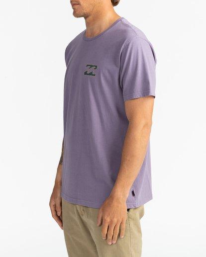 2 Crayon Wave - T-Shirt for Men Purple U1SS86BIF0 Billabong