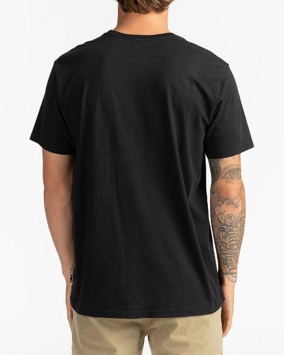 5 Call808 - T-Shirt für Männer Schwarz U1SS87BIF0 Billabong