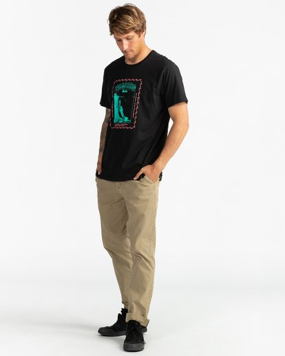 4 Call808 - T-Shirt für Männer Schwarz U1SS87BIF0 Billabong