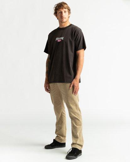 4 Aussie Surf Co - Camiseta para Hombre Negro U1SS89BIF0 Billabong