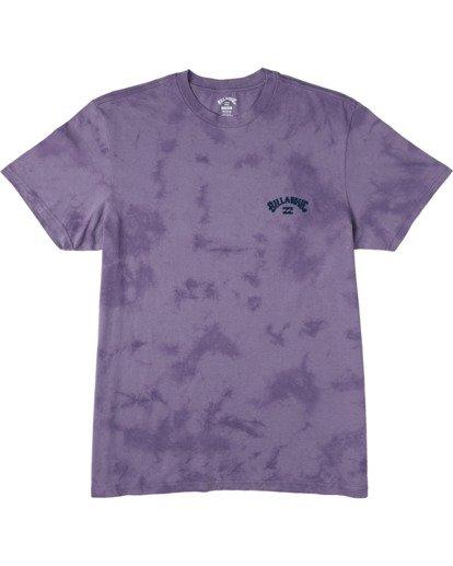 3 Arch Wave Tie Dye - Maglietta da Uomo Purple U1SS90BIF0 Billabong