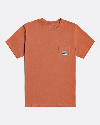 0 Adventure Division Collection Pocket Finder - T-Shirt für Männer  U1SS91BIF0 Billabong