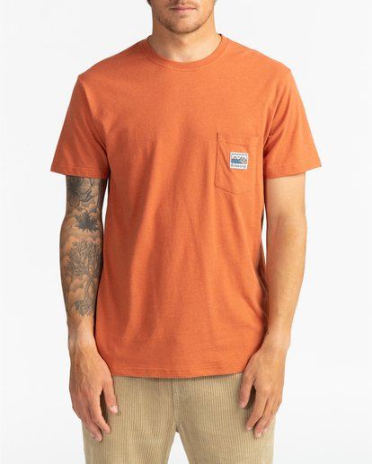 2 Adventure Division Collection Pocket Finder - T-Shirt für Männer  U1SS91BIF0 Billabong