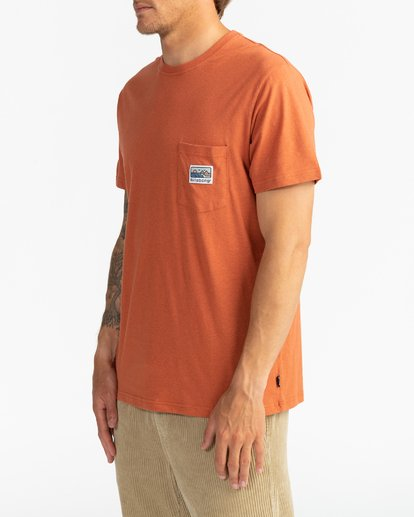 3 Adventure Division Collection Pocket Finder - T-Shirt für Männer  U1SS91BIF0 Billabong