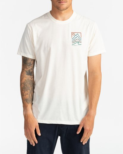 0 Adventure Division Collection Peak - T-Shirt für Männer Weiss U1SS96BIF0 Billabong