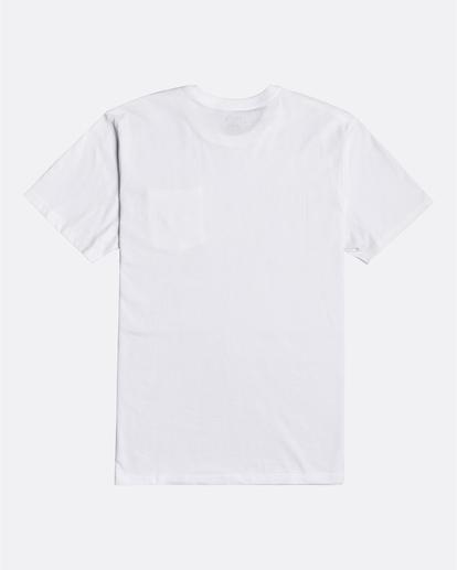 1 Stacked - T-Shirt für Männer Weiss U1SS98BIF0 Billabong