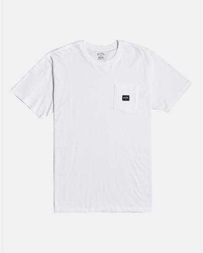 0 Stacked - T-Shirt für Männer Weiss U1SS98BIF0 Billabong