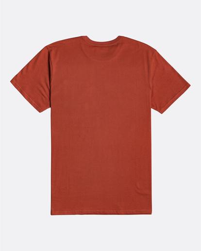 4 Stacked - T-Shirt for Men Red U1SS98BIF0 Billabong