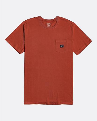 3 Stacked - T-Shirt for Men Red U1SS98BIF0 Billabong