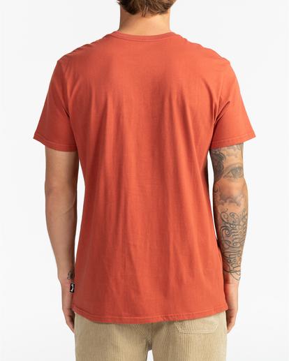 1 Stacked - T-Shirt for Men Red U1SS98BIF0 Billabong