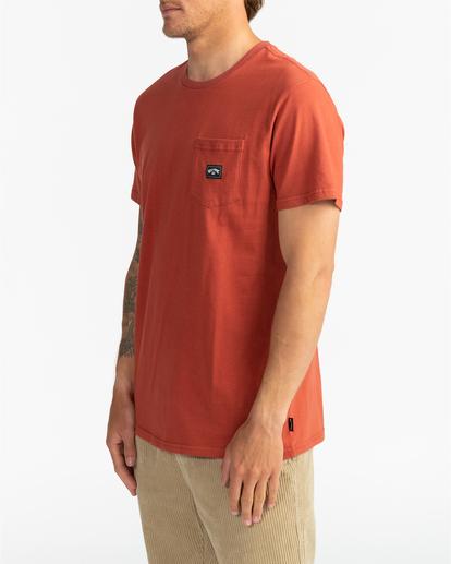 2 Stacked - T-Shirt for Men Red U1SS98BIF0 Billabong