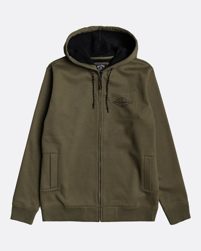 0 Adventure Division Collection Alpine - Sweat à capuche zippé pour Homme  U1ZH02BIF0 Billabong