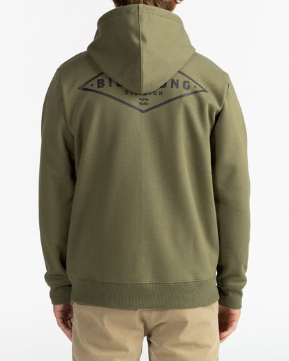 10 Adventure Division Collection Alpine - Sudadera con capucha y cremallera para Hombre  U1ZH02BIF0 Billabong