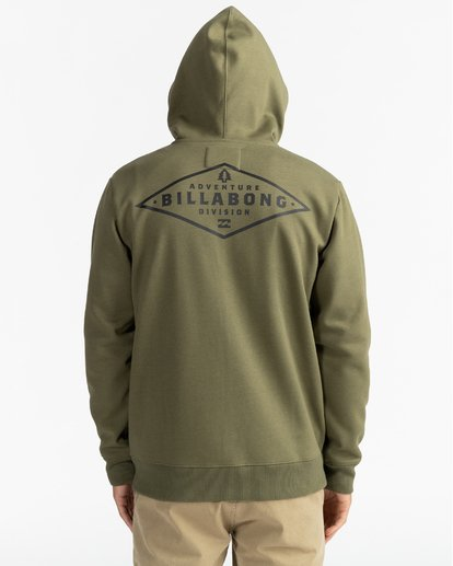 11 Adventure Division Collection Alpine - Sudadera con capucha y cremallera para Hombre  U1ZH02BIF0 Billabong
