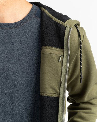 5 Adventure Division Collection Alpine - Sweat à capuche zippé pour Homme  U1ZH02BIF0 Billabong