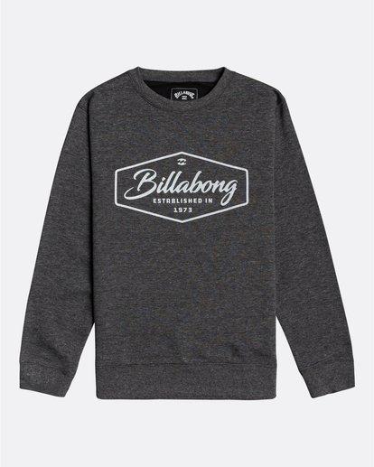 0 Trademark - Sweatshirt für Jungen Schwarz U2CR01BIF0 Billabong