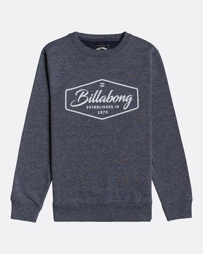 0 Trademark - Sweatshirt für Jungen Blau U2CR01BIF0 Billabong