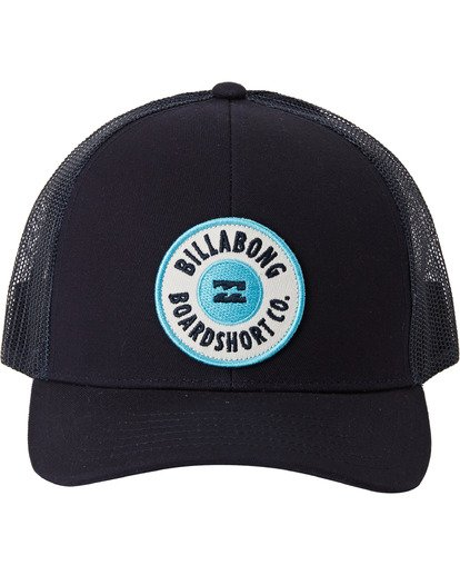 1 Walled - Trucker Cap for Boys Blue U2CT02BIF0 Billabong