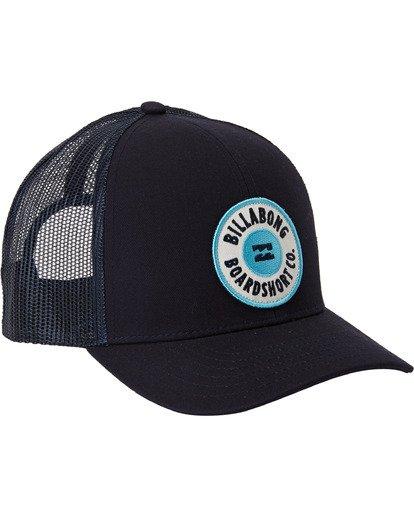 2 Walled - Trucker Cap for Boys Blue U2CT02BIF0 Billabong
