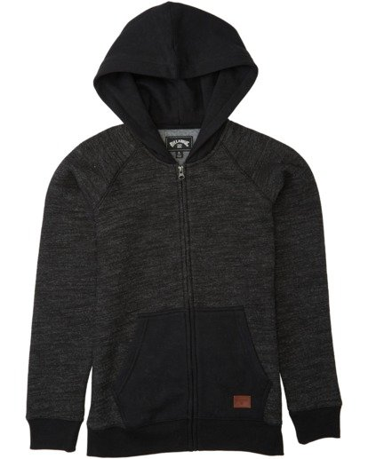 0 Balance Zip - Hoodie for Boys Black U2FL12BIF0 Billabong