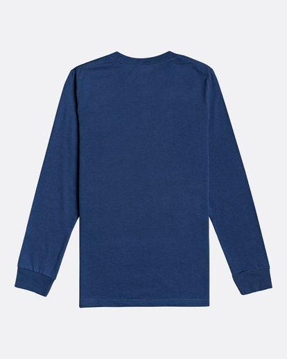 1 Arch - Long Sleeve T-Shirt for Boys Blue U2LS02BIF0 Billabong