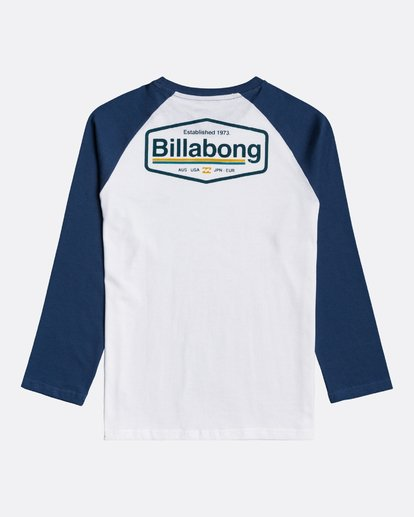 1 Montana - Camiseta de manga larga para Chicos Azul U2LS03BIF0 Billabong
