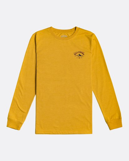 0 Arch Peak - Long Sleeve T-Shirt for Boys Yellow U2LS04BIF0 Billabong