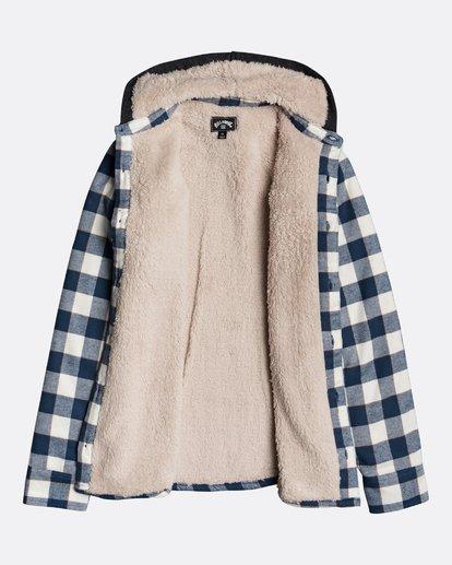 2 All Day Sherpa Boys Flannel - Camisa-chaqueta para Chicos Multicolor U2SH05BIF0 Billabong