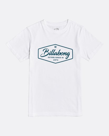 0 Trademark - Camiseta para Chicos Blanco U2SS03BIF0 Billabong