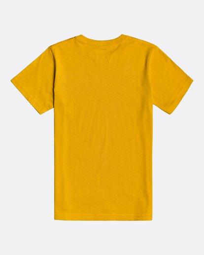 1 Trademark - Camiseta para Chicos Amarillo U2SS04BIF0 Billabong