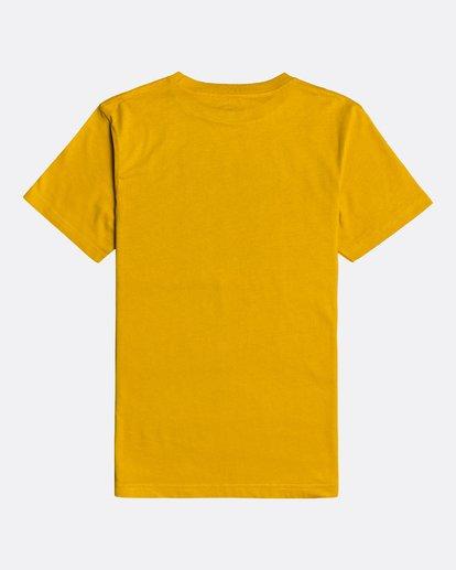 1 Unity - T-Shirt for Boys Yellow U2SS06BIF0 Billabong