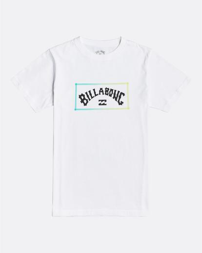 0 Arch - Camiseta para Chicos Blanco U2SS07BIF0 Billabong