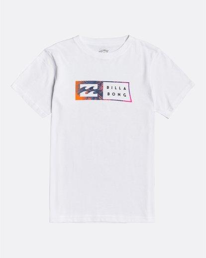 0 Inversed - T-Shirt für Jungen Weiss U2SS09BIF0 Billabong