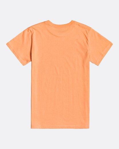 1 Inversed - T-Shirt for Boys Orange U2SS10BIF0 Billabong