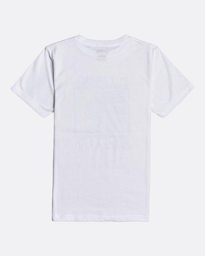 1 Over The Lip - T-Shirt für Jungen Weiss U2SS17BIF0 Billabong