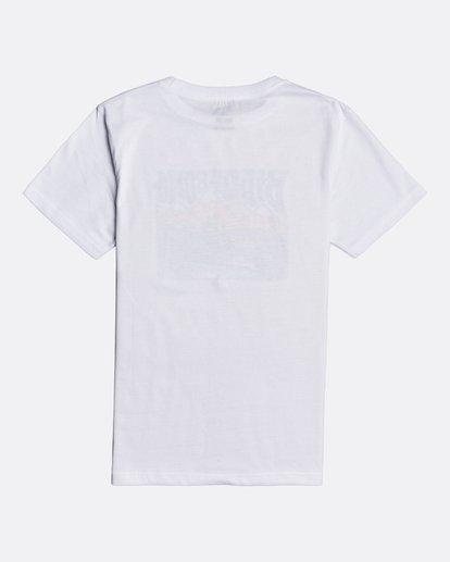 1 Mt Rock - Camiseta para Chicos Blanco U2SS19BIF0 Billabong