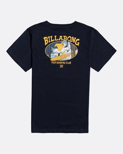 1 Pier - T-Shirt für Jungen Blau U2SS21BIF0 Billabong